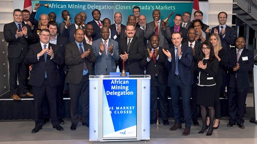 African mining delegation closes TSX