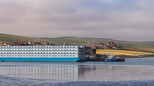 Floating accommodation for oil, mining projects