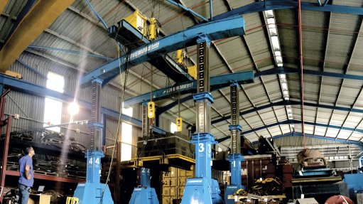 EFFECTIVE USE OF SPACE Strand jacks are particularly useful in operations with limited space available, such as in sugar mills, which are generally very congested