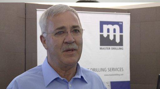 Master Drilling CEO Danie Pretorius