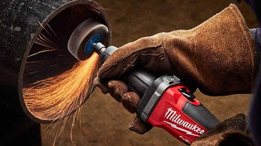 Cordless die grinder introduced onto market