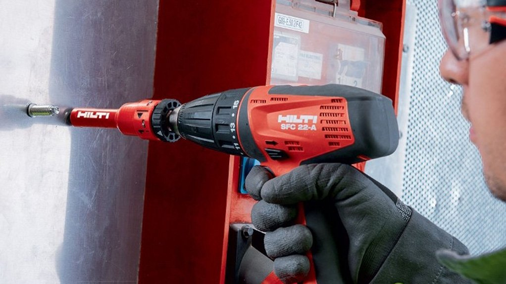THE HILTI THREADED STUD S-BT A cost-effective solution for fastening onto steel in mildly and highly corrosive environments