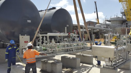 HFO plant's commissioning process under way