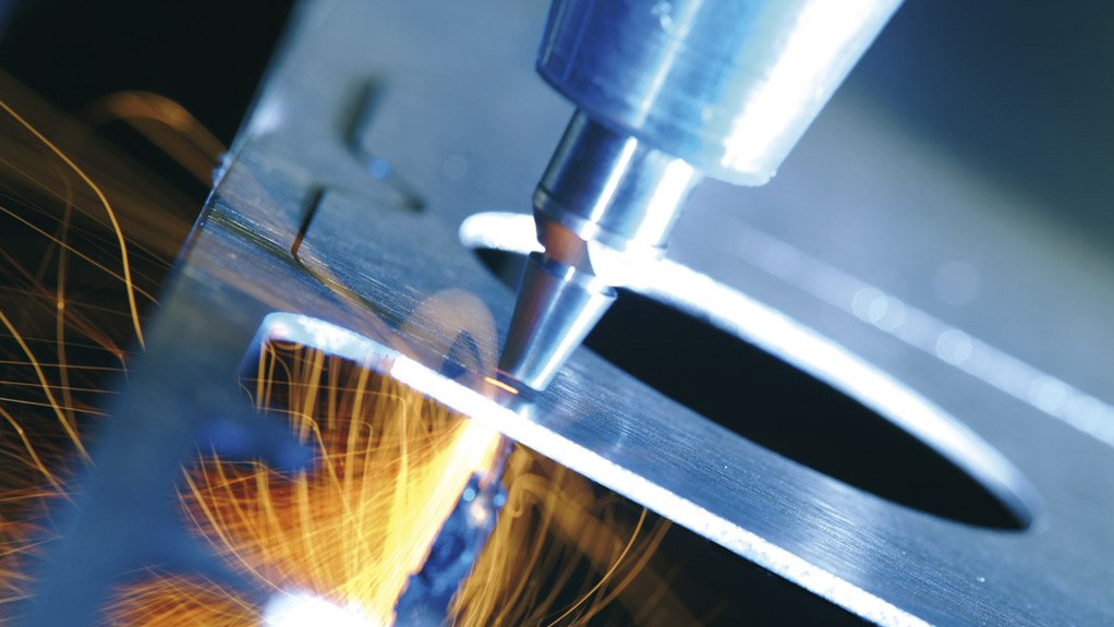 CUTTING EDGE Afrox started penetrating the laser cutting market around 2005 and its growth in this field and of the market share for laser cutting has dramatically increased since then