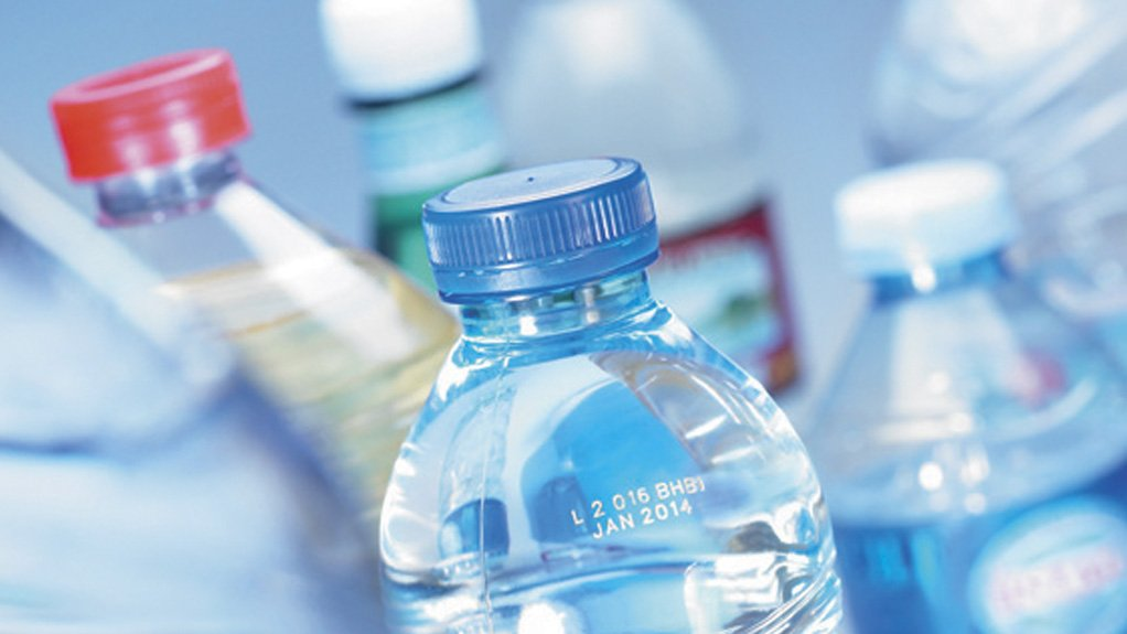 NO BOTTLEJOB  SmartLase coding solutions deliver a coding capacity of up to 1 400 average-sized bottles a minute