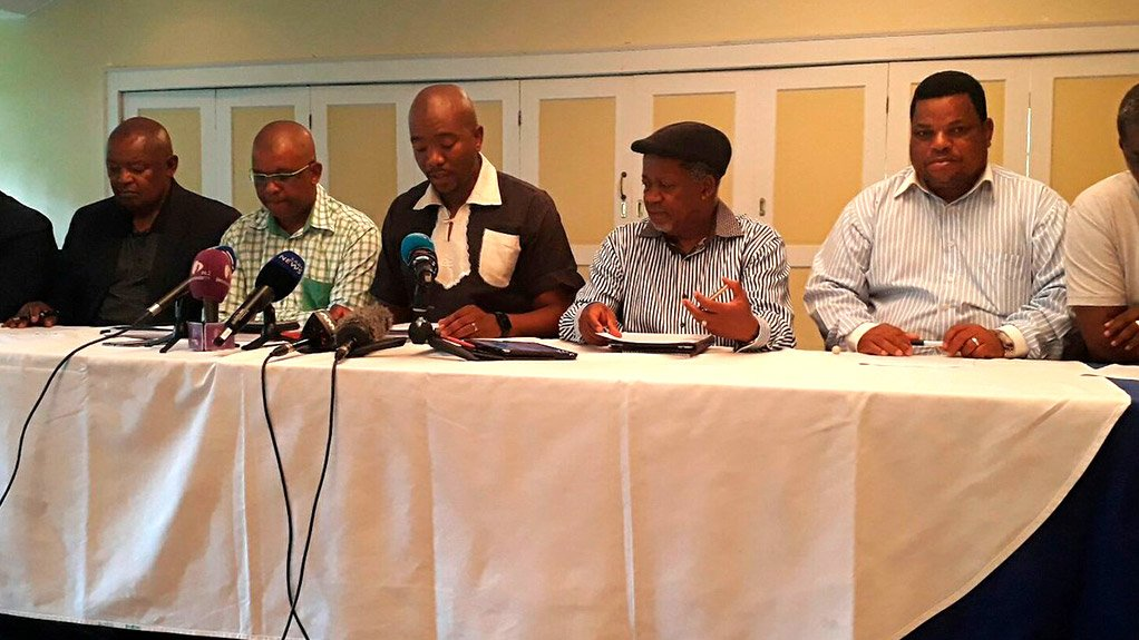 Removing President Zuma not about regime change: Opposition parties