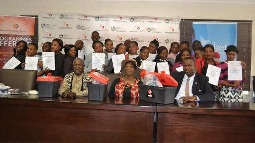 Engineering News - Moses Kotane Institute joins forces with