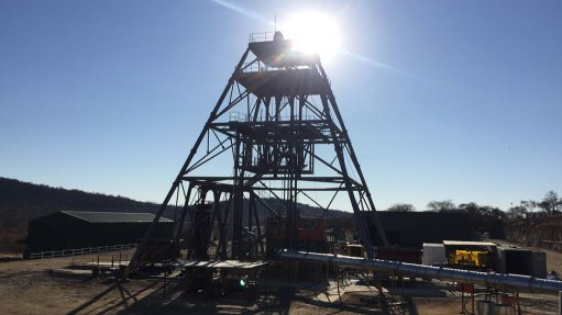 Blanket's Central shaft sinking on schedule