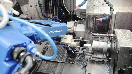 Robotic solution for  machine tools industry