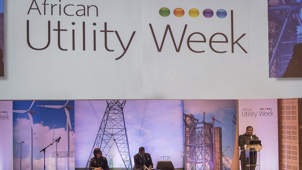 AWARD WINNING EVENT African Utility Week is the joint winner in the Best Trade Exhibition 6 001 m2  to 12 000 m2 category