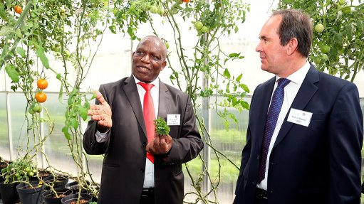 DAFF pledges support for a game changing NWU food and energy security project