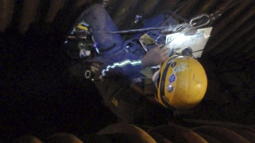 Rope access services provided for coal-fired power station
