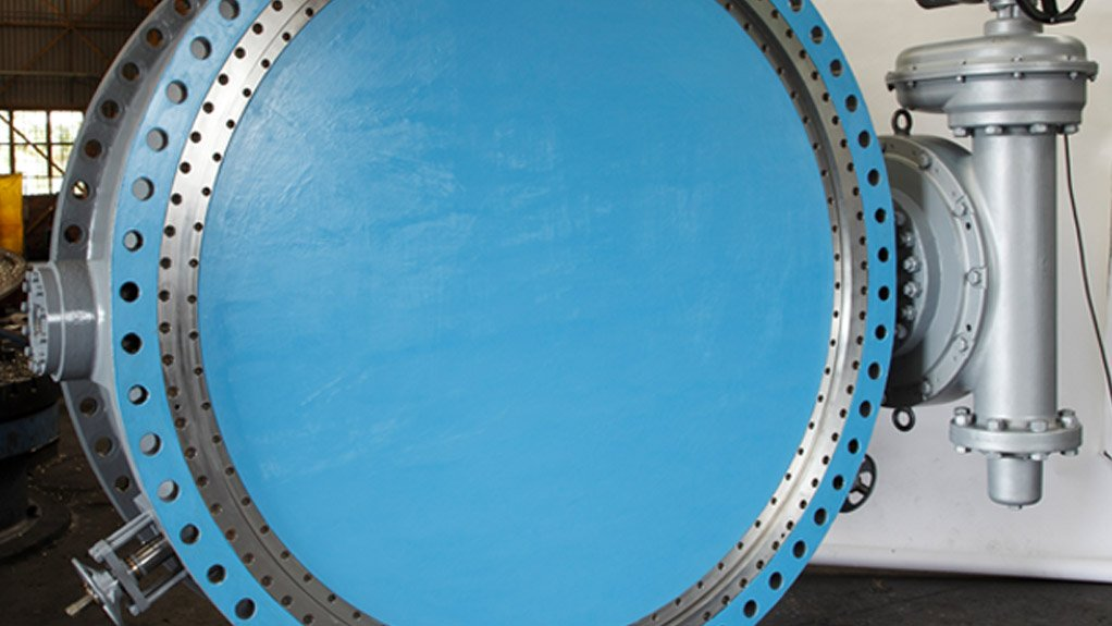 BIGGER RANGE AVK Southern Africa expanded its product offering with Gunric's range of butterfly valves