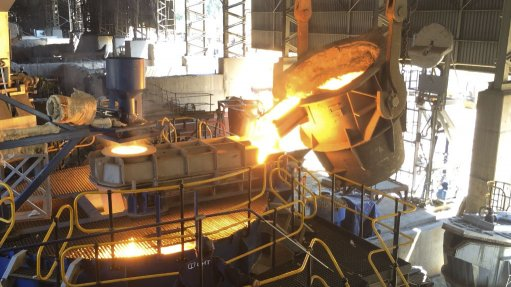 Krugersdorp plant converts furnaces to produce ferrochrome