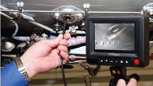South African industries show interest in new flexible borescope