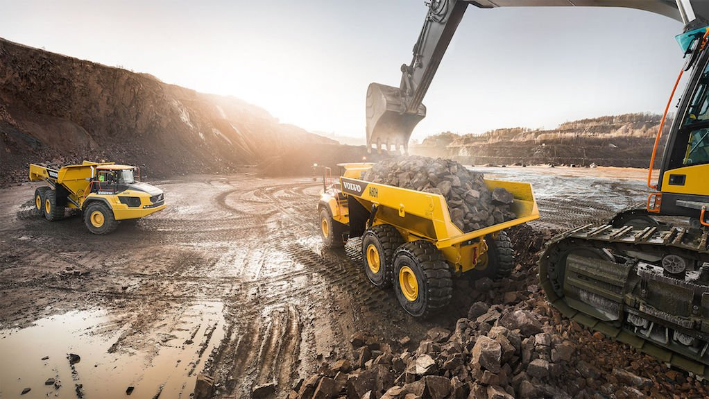 Volvo Launch Of Largest Dump Truck And Excavator