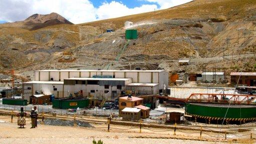 Bolívar mine, Mexico