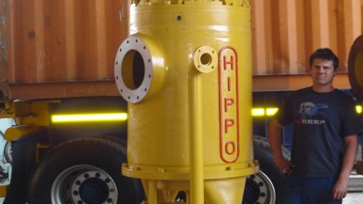 Pump tackles acidic  liquids containing solids