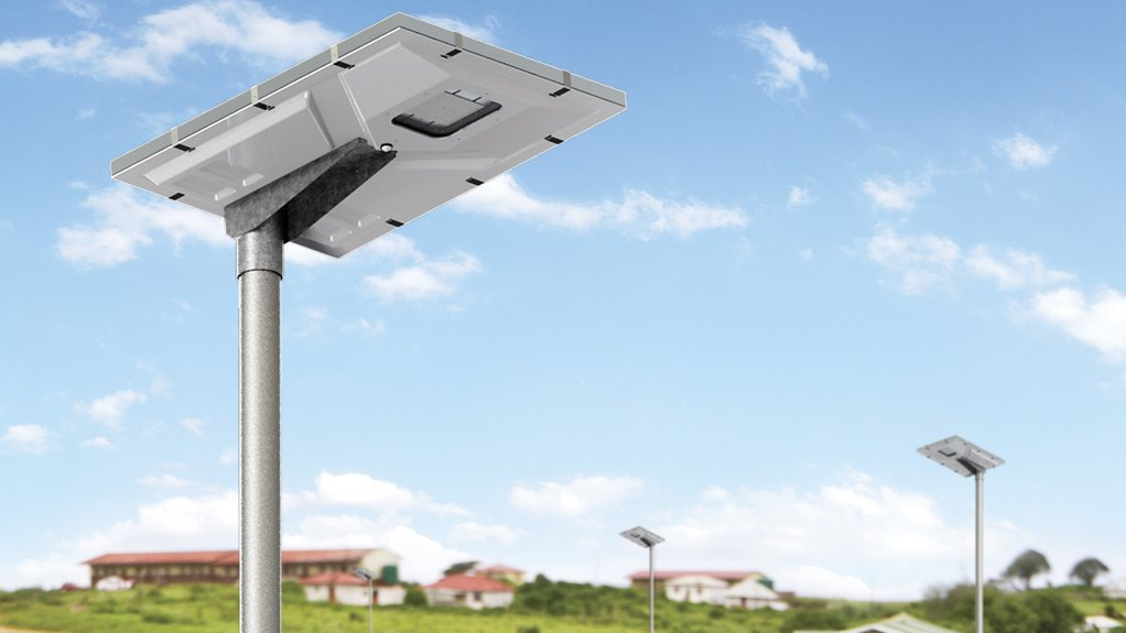SOL-ONE The luminaire has an integrated photocell and an integrated motion sensor