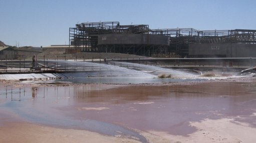JV contract secured  to desilt acid ponds