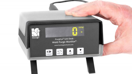 Weld purge monitor  required to measure oxygen accurately