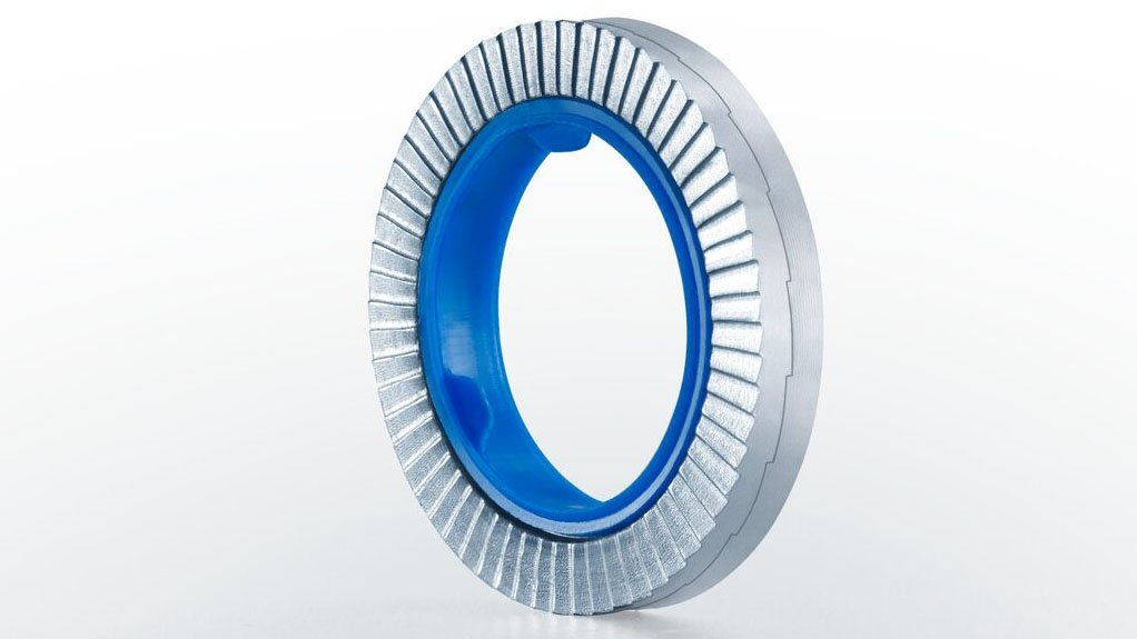 UNIQUE LOCKING An inner locking ring, which holds the pair of washers in place, makes the HEICO-LOCK Combi-washer particularly useful in applications where several fasteners are being assembled