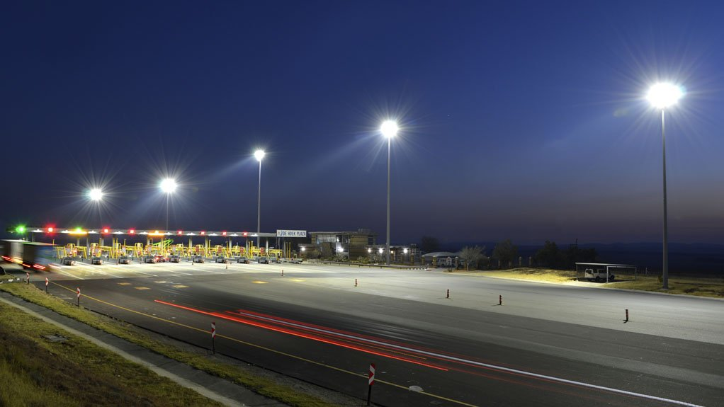 Caption:  HIGHMAST LIGHTING Beka Schrèder completed a highmast lighting project on the N3 national route connecting Johannesburg and Durban