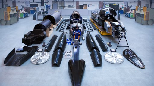 Bloodhound supersonic car to start live testing in October