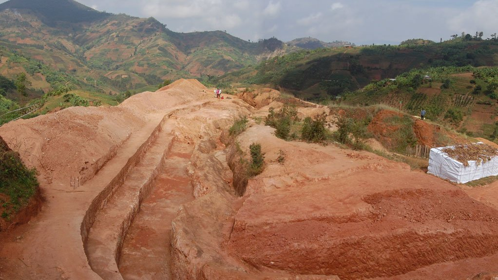 MAIN VEIN Rainbow Rare Earths is focused on exposing Gasagwe's main vein, at the Gakara project's initial mining site