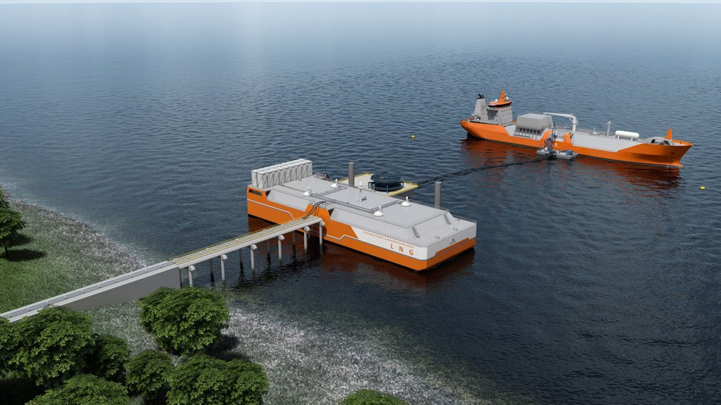 NEW AVENUES New technologies enable the delivery of smaller volumes of liquefied natural gas to almost any coastal location