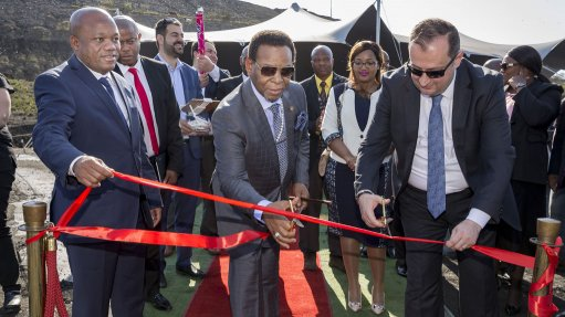 Zululand Anthracite Colliery unveils new 50 t/h wash plant