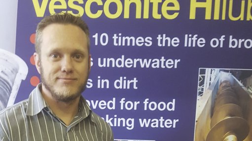 EDDIE SWANEPOEL The knowledge gained from hard-wearing African sugar applications has been essential in converting other relatively new markets to using Vesconite Bearings' products