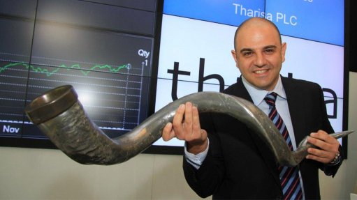 Tharisa, headed by CEO Phoevos Pouroulis