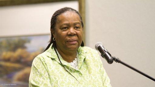 ANC NEC member Naledi Pandor