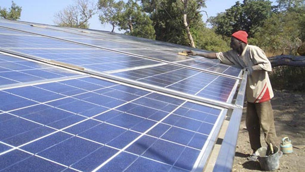 OFF THE GRID The Coega Development Corporation has recently implemented various renewable-energy products, to further diversify South Africa's energy mix