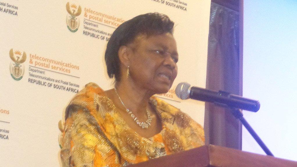 Home Affairs Minister Hlengiwe Mkhize