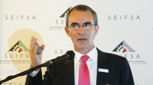 Chamber of Mines of South Africa chief economist Henk Langenhoven