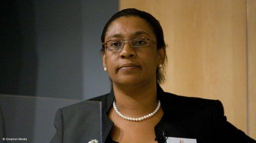 Merafe CEO Zanele Matlala