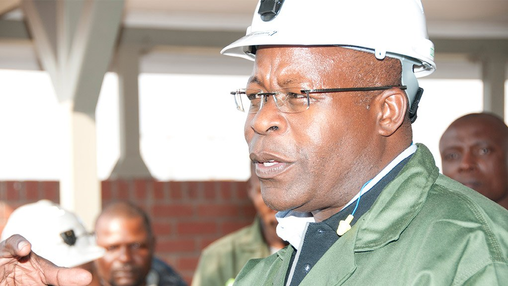 Lonmin CEO Ben Magara, who has also assumed direct hands-on COO control of all operations
