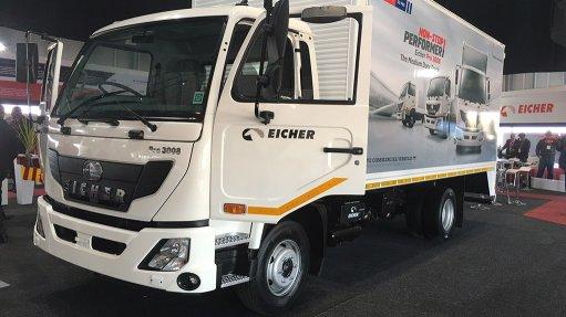Eicher Trucks' medium-duty hauler to be followed by heavy truck, bus launch