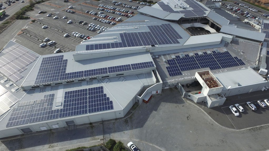 SOLAR POWER SOLA Future Energy will be retrofitting older buildings as well as new buildings with solar power