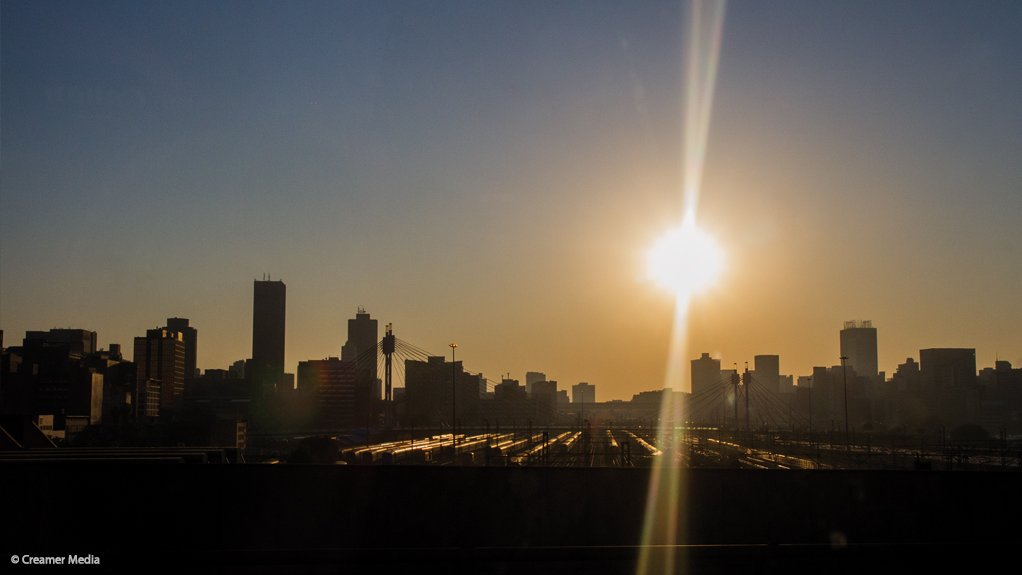CITY OF JOHANNESBURG The city is the largest in the country in terms of revenue