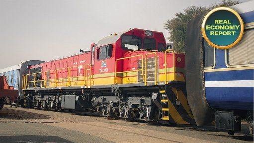 State-owned rail entity showcases products and initiatives