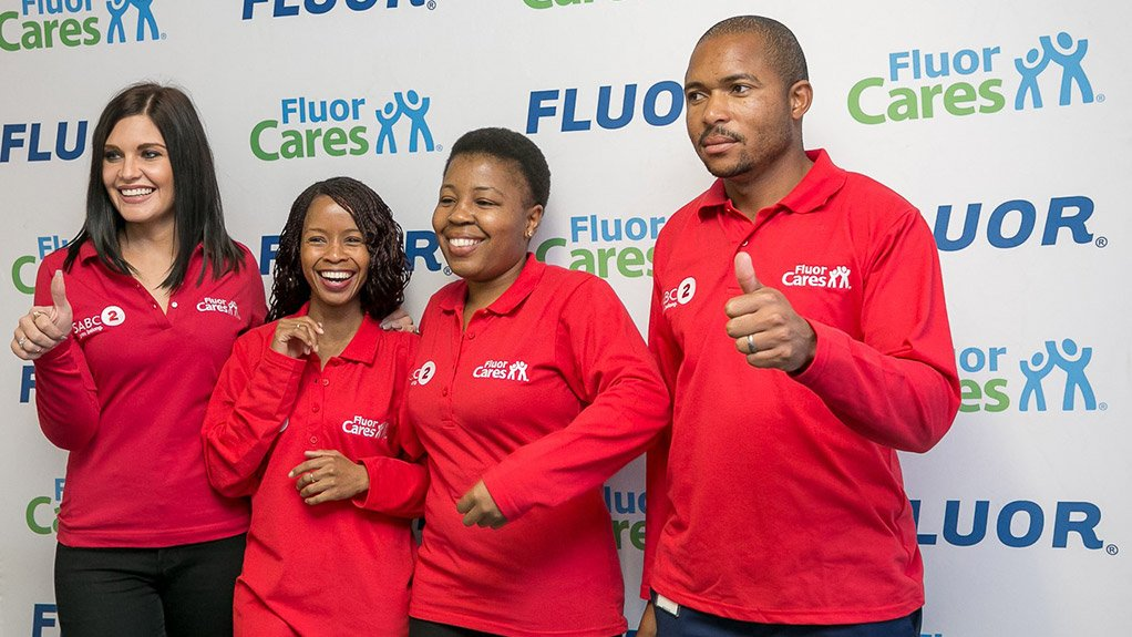 Fluor and SABC2 hand over refurbished science laboratory to Soweto school to celebrate Mandela Month.