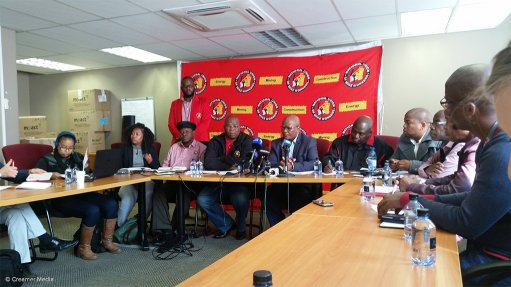 NUM calls for Zwane's resignation, concerned by large number of retrenchments