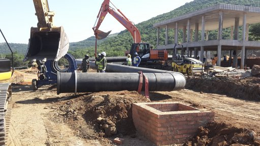 Company supplies piping for water treatment  expansion project