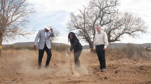 Nokeng breaks ground at Gauteng's new R1.7bn fluorspar mine