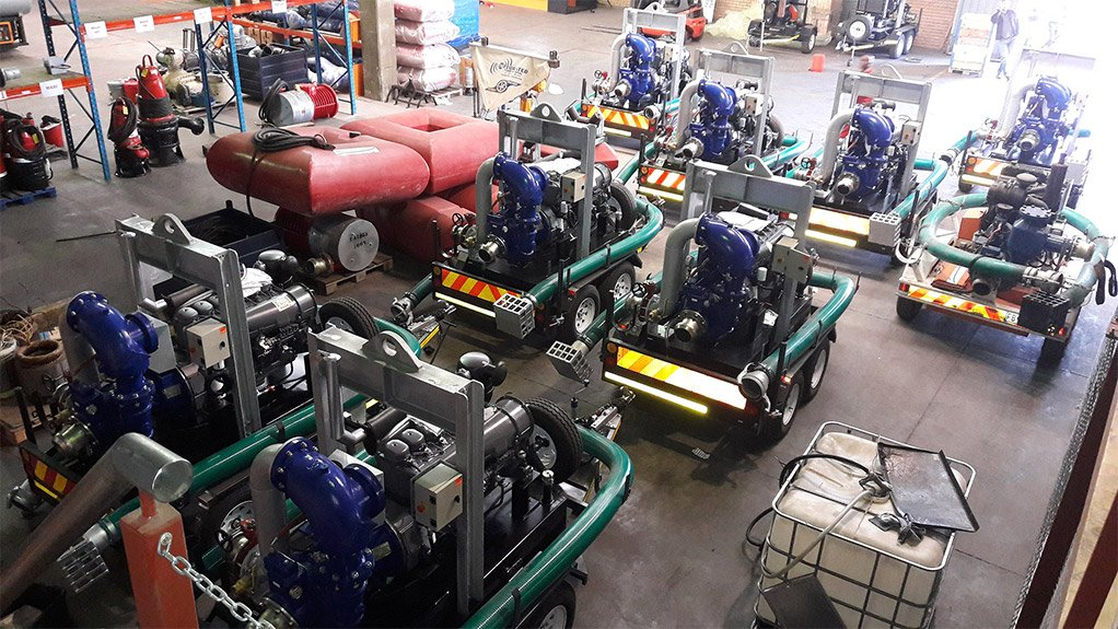 Eight Sykes Dewatering Pumps To Coal Mining Operation