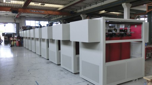 Modular, mobile  dry-type transformers ideal for Africa