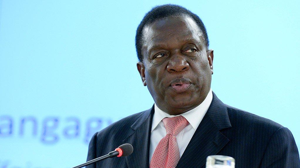 Zimbabwean VC Emmerson Mnangagwa